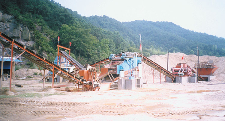 250tph Granite Crushing Production Line In China