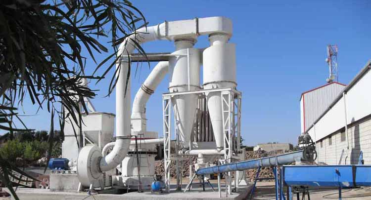 Bentonite Pellet Vertical Mill