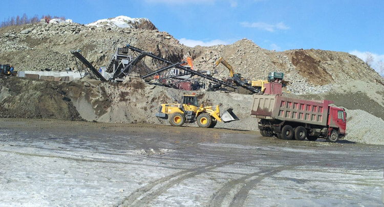 Stone Quarrying Process Line