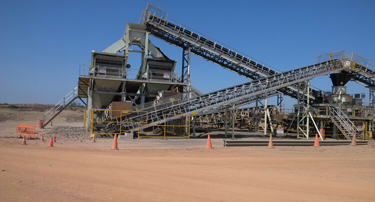 Taconite Ore Crushing Plant