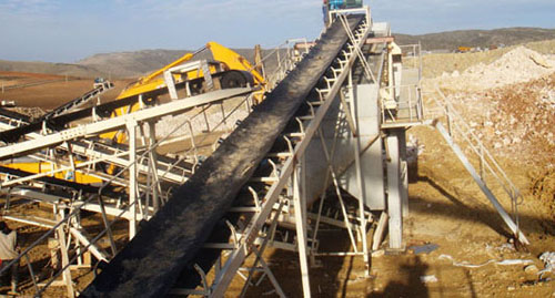 Used Limestone Processing Plant